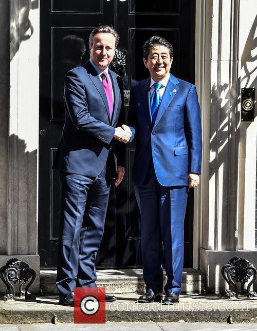 David Cameron and Prime Minister Shinzo Abe 6