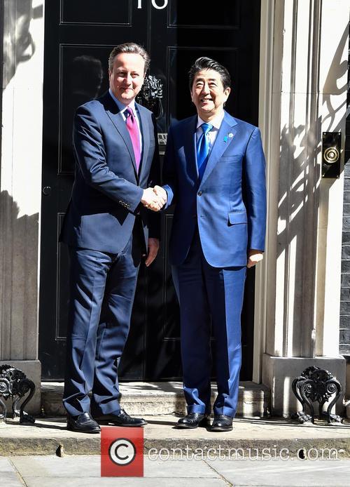 David Cameron and Prime Minister Shinzo Abe 7