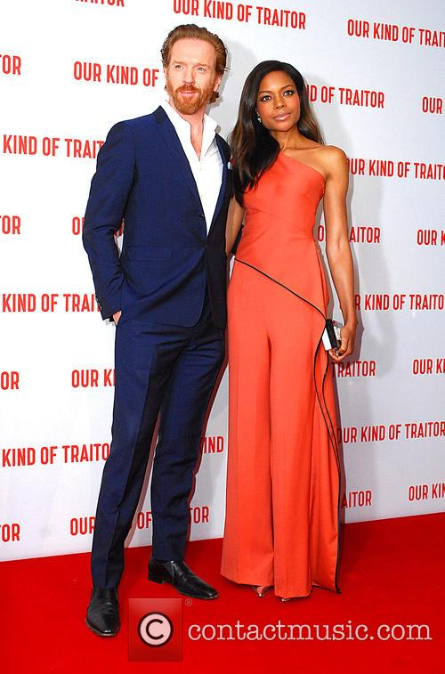 Damian Lewis and Naomi Harris 1