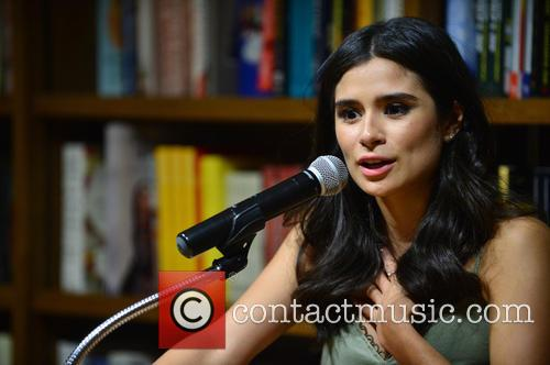 Diane Guerrero discuss and signs copies of her...