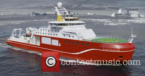£200m polar research ship named in honour of...