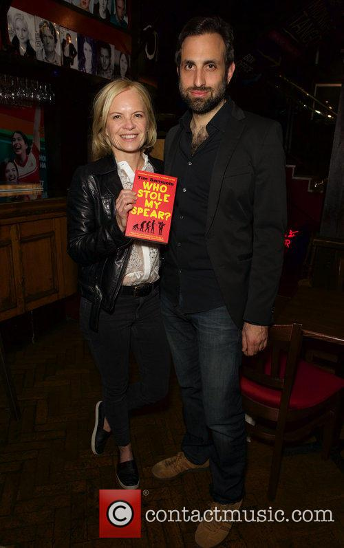 Mariella Frostrup and Tim Samuels