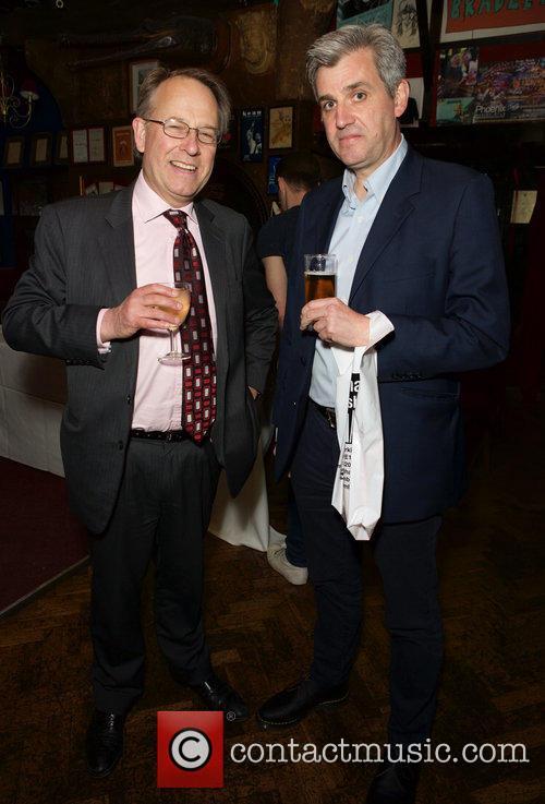 Michael Crick and Peter Barron 1