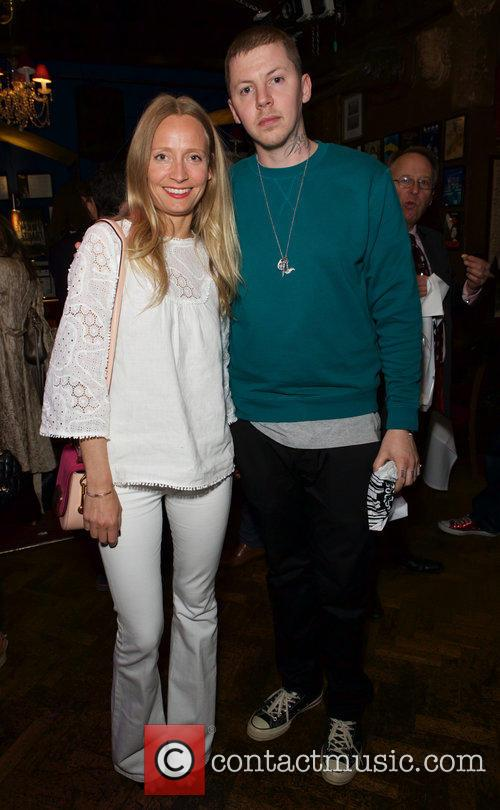 Martha Ward and Professor Green 1