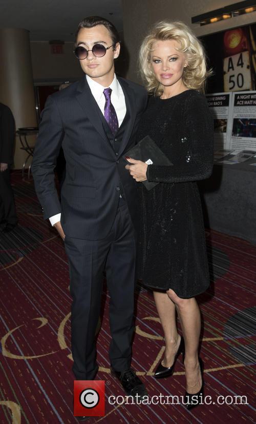 Brandon Thomas Lee and Pamela Anderson 1