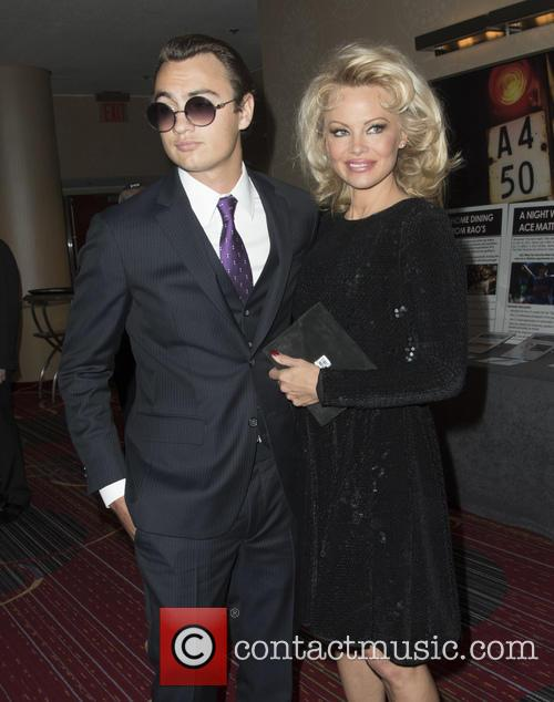 Brandon Thomas Lee and Pamela Anderson 2