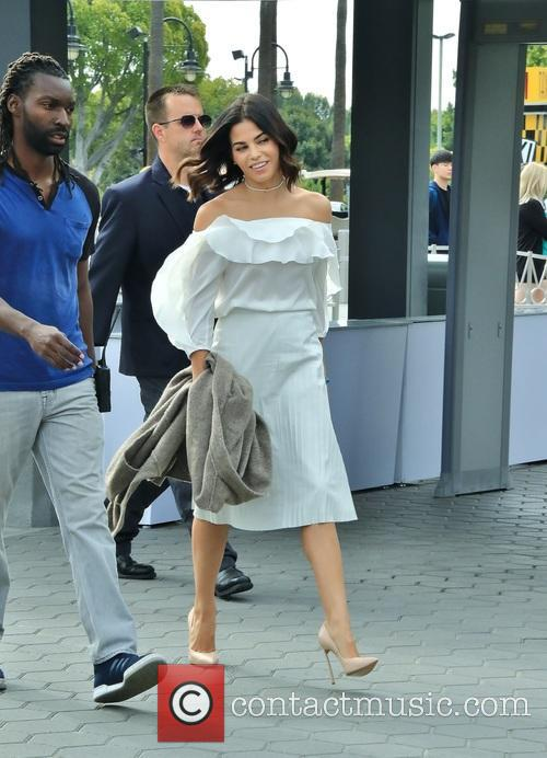 Jenna Dewan Tatum spotted at Universal Studios Hollywood...