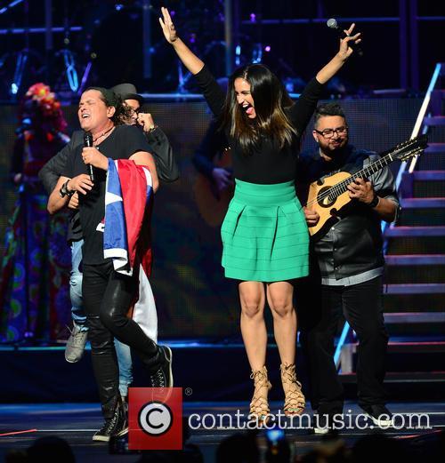 Edgar Rios, Mayda Belen, Quique Domenech, Tres and Carlos Vives 1