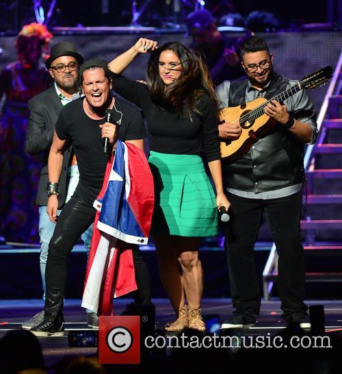 Edgar Rios, Mayda Belen, Quique Domenech, Tres and Carlos Vives 2