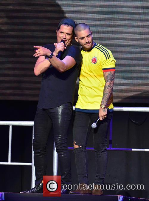 Carlos Vives and Maluma 7