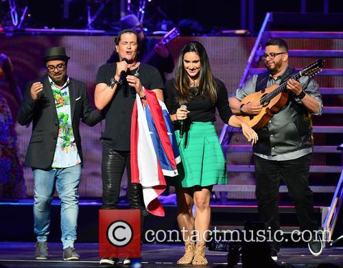 Edgar Rios, Mayda Belen, Quique Domenech, Tres and Carlos Vives 6