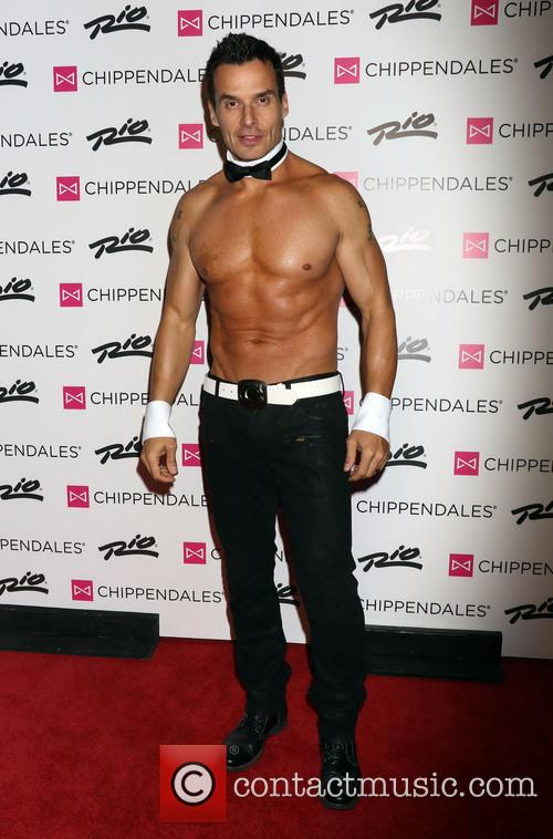 Antonio Sabato Jr. debuts in Chippendales male revue