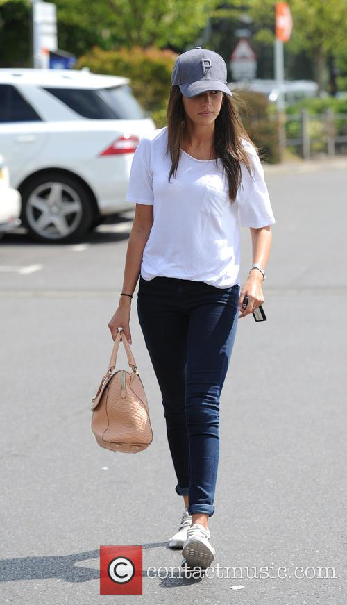 Michelle Keegan casually dressed while and about