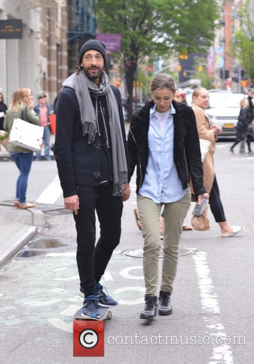 Adrien Brody and Lara Leito 1