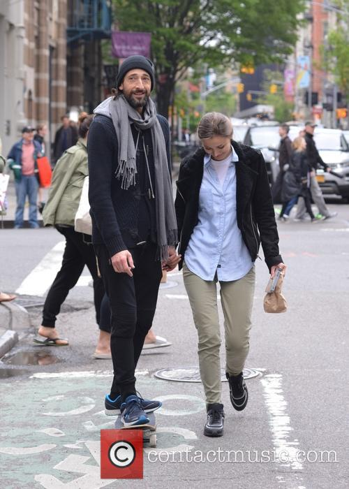Adrien Brody and Lara Leito 2