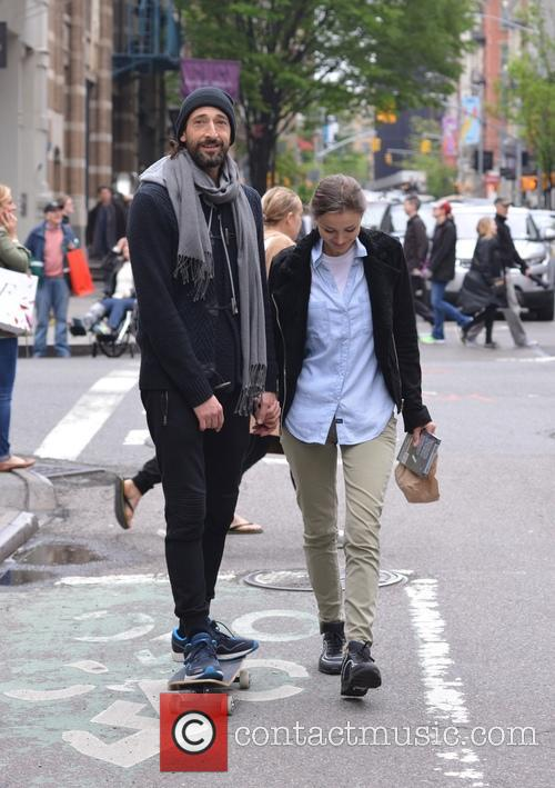 Adrien Brody and Lara Leito 3