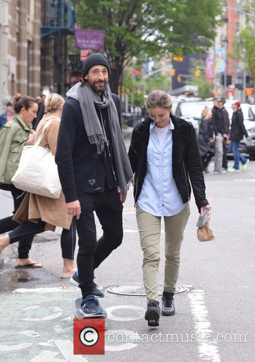 Adrien Brody and Lara Leito 4