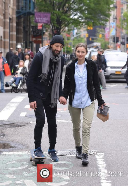 Adrien Brody and Lara Leito 6