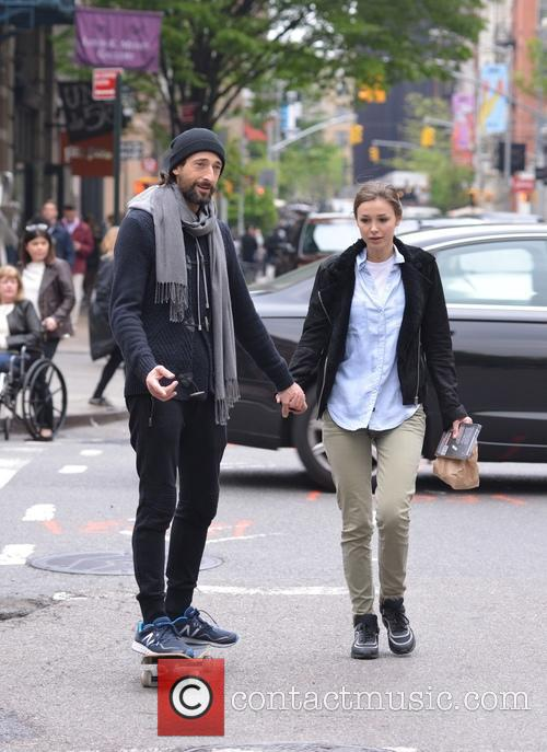 Adrien Brody and Lara Leito 7