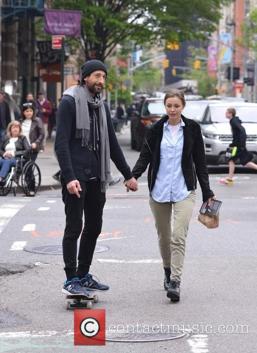 Adrien Brody and Lara Leito 8