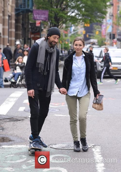 Adrien Brody and Lara Leito 9