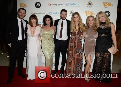 Antony Quinlan, Louise Marwood, Natalie Rob, Mike Parr, Sophie Powles, Eden Taylor-draper and Amy Walsh 2