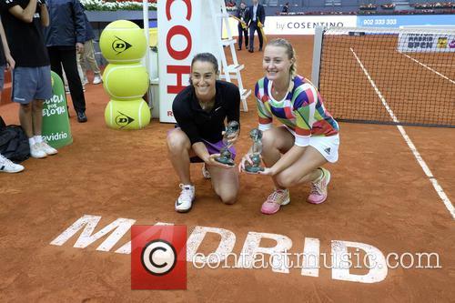 Mutua Madrid Open - Caroline Garcia and Kristina...