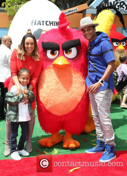 Tia Mowry, Cree Taylor Hardrict and Cory Hardrict 6