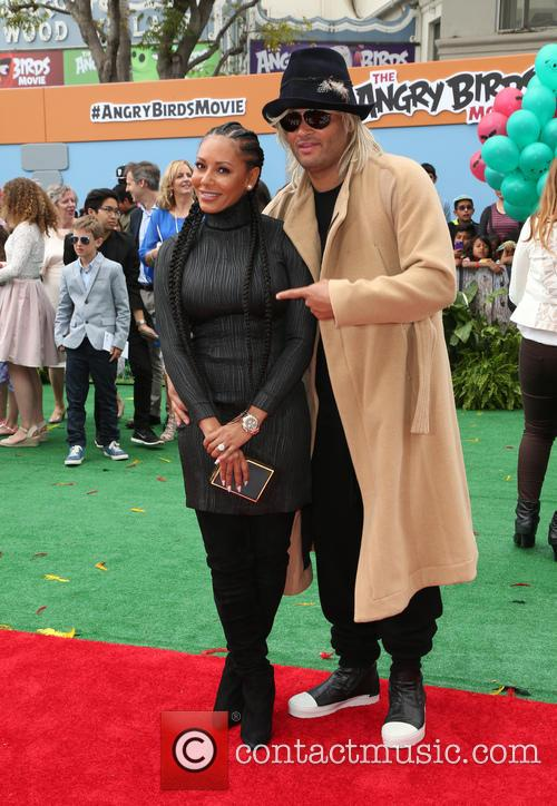 Mel B and Stephen Belafonte 3