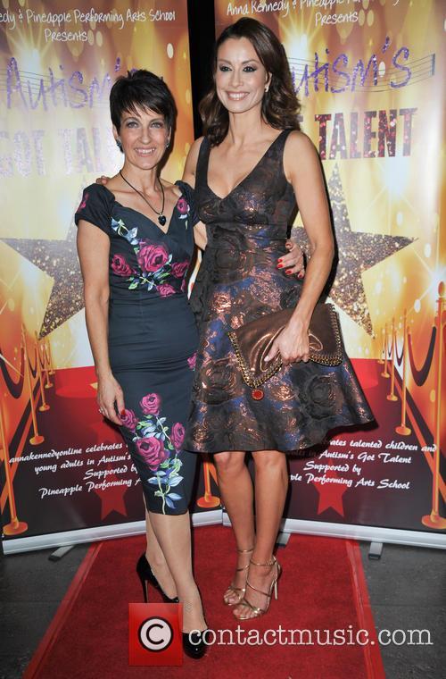 Anna Kennedy Obe and Melanie Sykes 1