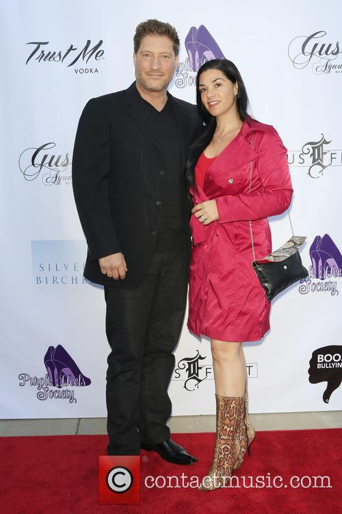 Sean Kanan and Michelle Vega