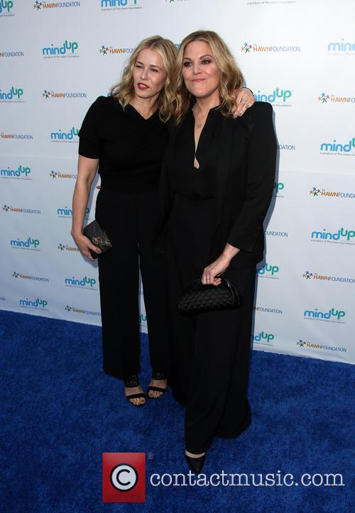Chelsea Handler and Mary Mccormack 2