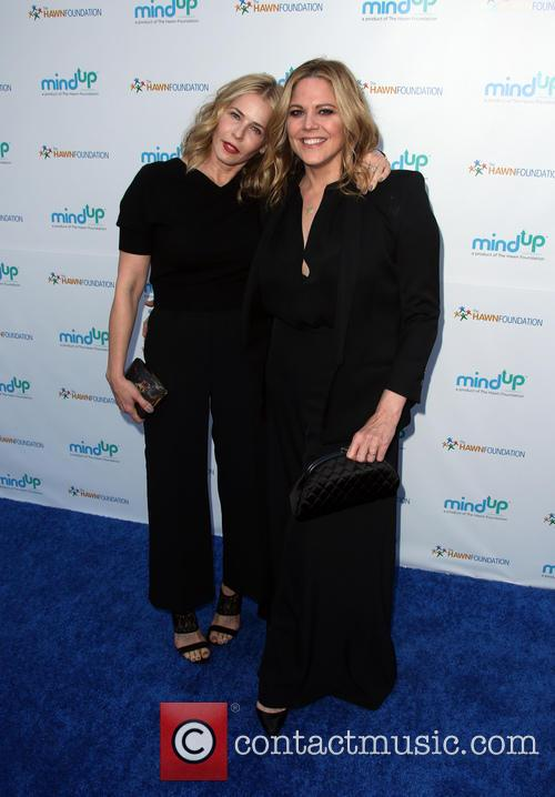 Chelsea Handler and Mary Mccormack 4