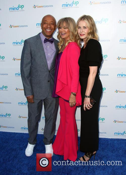 Russell Simmons, Goldie Hawn and Kate Hudson 1