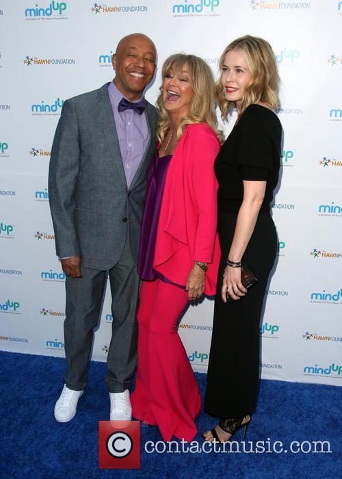 Russell Simmons, Goldie Hawn and Kate Hudson 2
