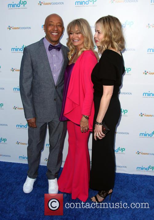 Russell Simmons, Goldie Hawn and Kate Hudson 3
