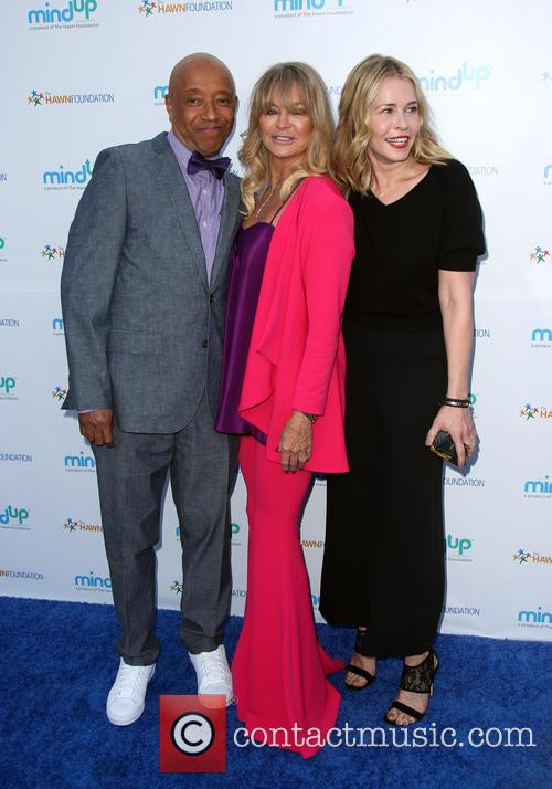 Russell Simmons, Goldie Hawn and Kate Hudson 4