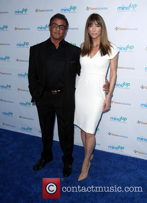 Sylvester Stallone and Jennifer Flavin 1