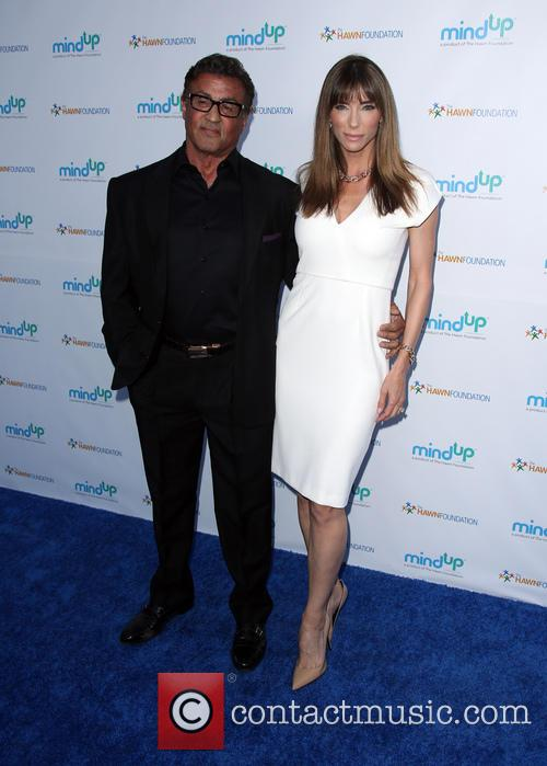 Sylvester Stallone and Jennifer Flavin 3
