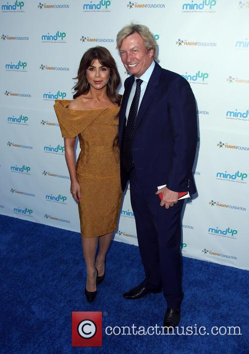 Paula Abdul and Nigel Lythgoe