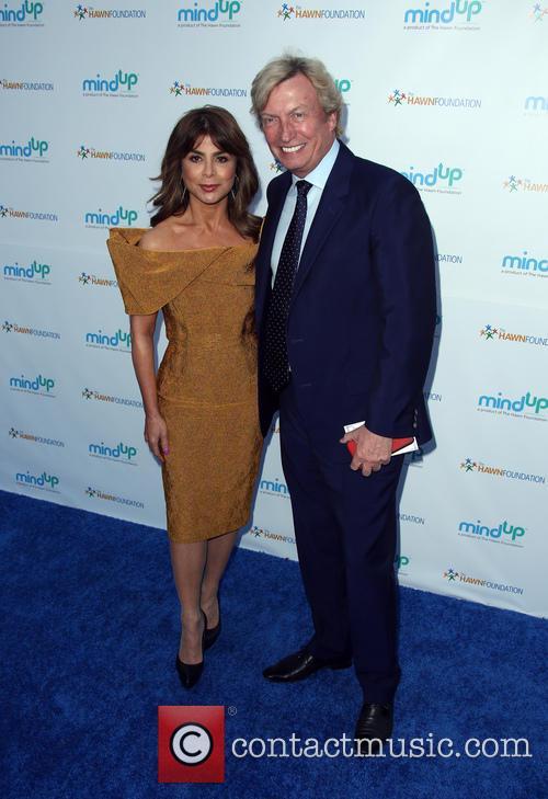 Paula Abdul and Nigel Lythgoe 2