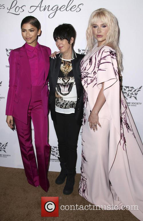 Zendaya Coleman, Diane Warren and Kesha 6