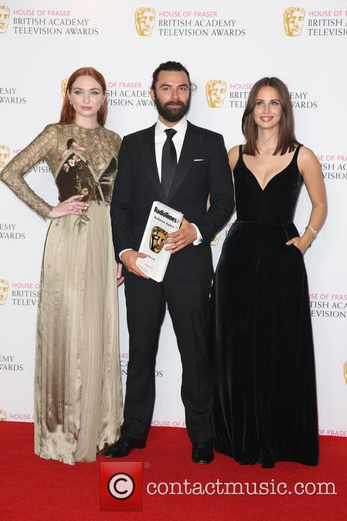 Aiden Turner, Heida Reed and Eleanor Tomlinson 2