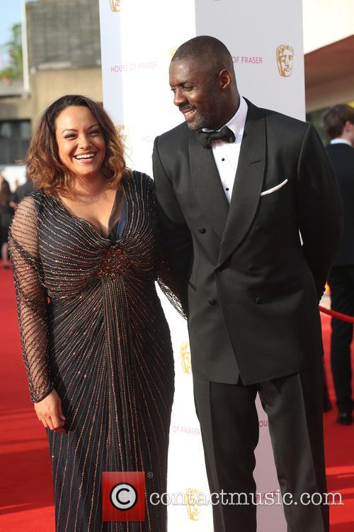 Naiyana Garth and Idris Elba 2