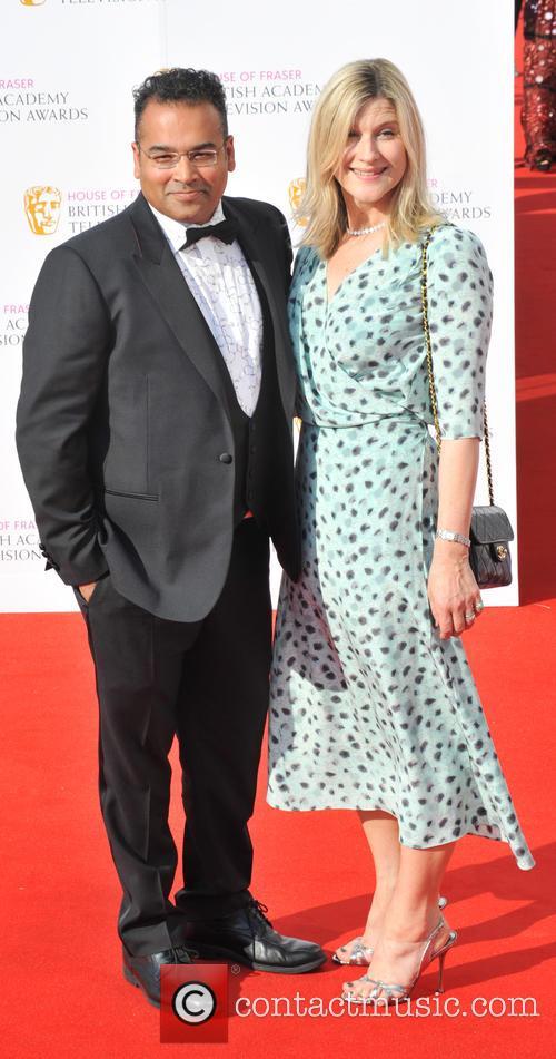 Krishnan Guru-murthy and Lisa Guru-murthy 1