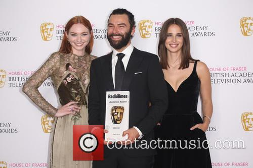 Eleanor Tomlinson, Aidan Turner and Heida Reed 1