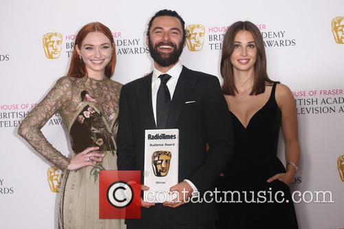 Eleanor Tomlinson, Aidan Turner and Heida Reed 2