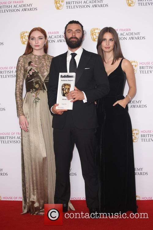 Eleanor Tomlinson, Aidan Turner and Heida Reed 3