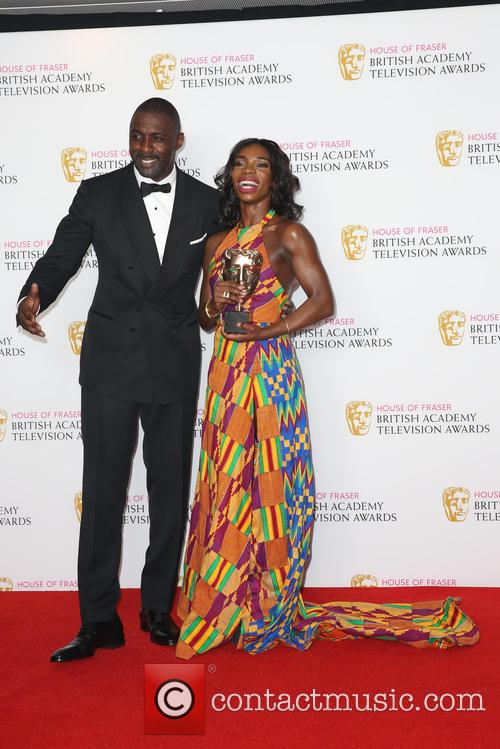 Idris Elba and Michaela Coel