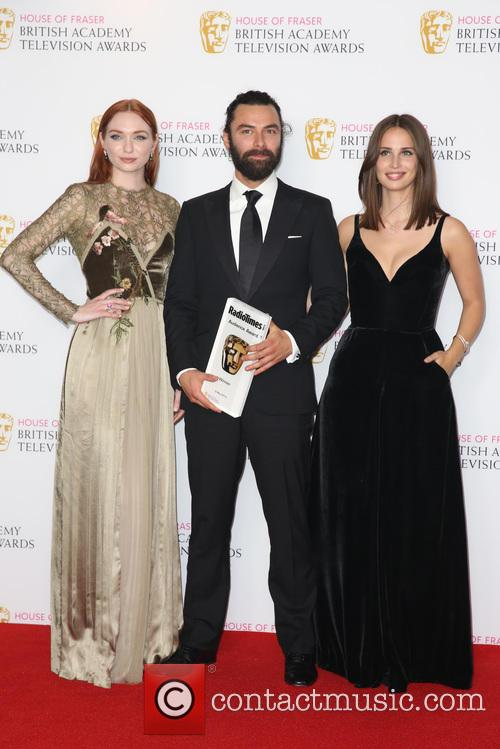 Eleanor Tomlinson, Aidan Turner and Heida Reed 5